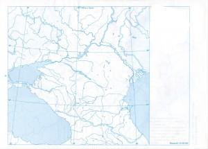 Rusia sudica(partea europeana) Harta oarba
