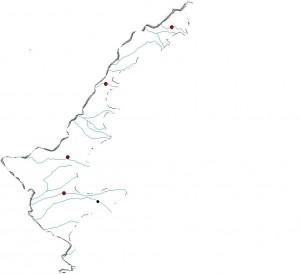 Harta oarba Campia de Vest