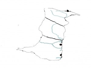 Dobrogea Plateau Map
