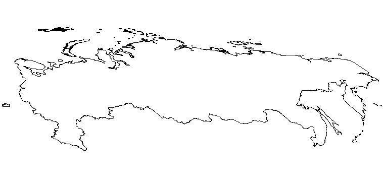 Harta oarba Rusia