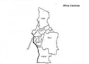 Harta muta Africa Centrala