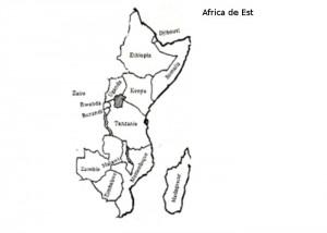 Harta muta Africa de Est