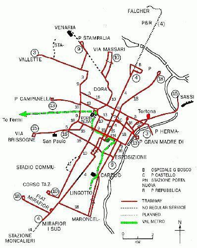 Harta Metroului Torino Profu De Geogra