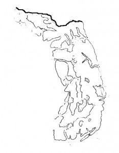 Harta muta Carpatii Orientali