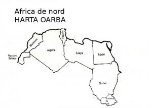 Africa de Nord Harta muta