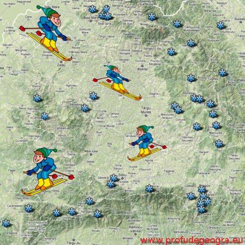 Partii ski si statiuni schi din Romania