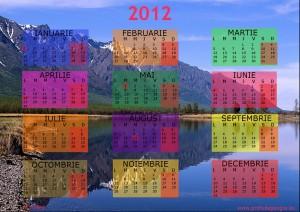 calendar 2012 Lacul Baikal