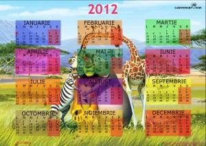 calendar 2012 Madagascar