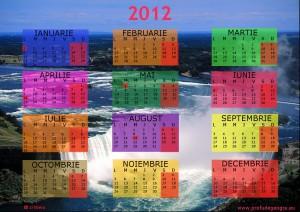 calendar 2012 Niagara