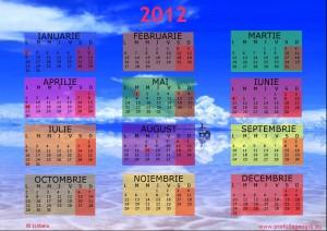 calendar 2012 Salars de Uyuni