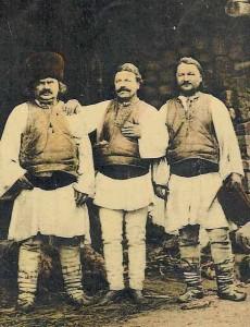 Ciobani din regiunea Sibiului