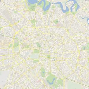 Harta-Bucuresti