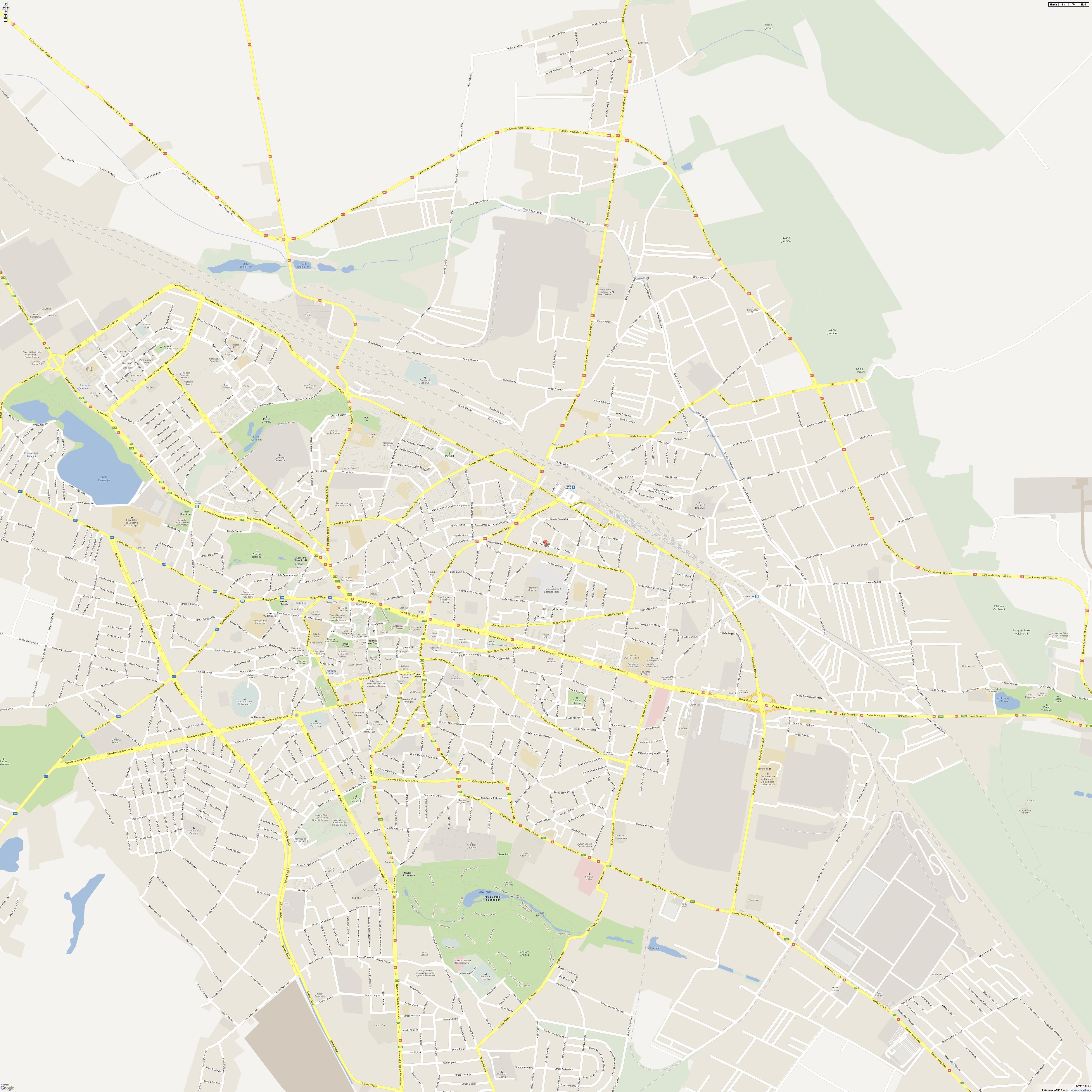 Craiova Harta Online Archives Profu De Geogra