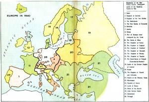 Harta Europei (1540)