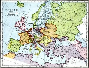 Harta Europei (1730)