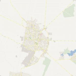 Harta-Focsani