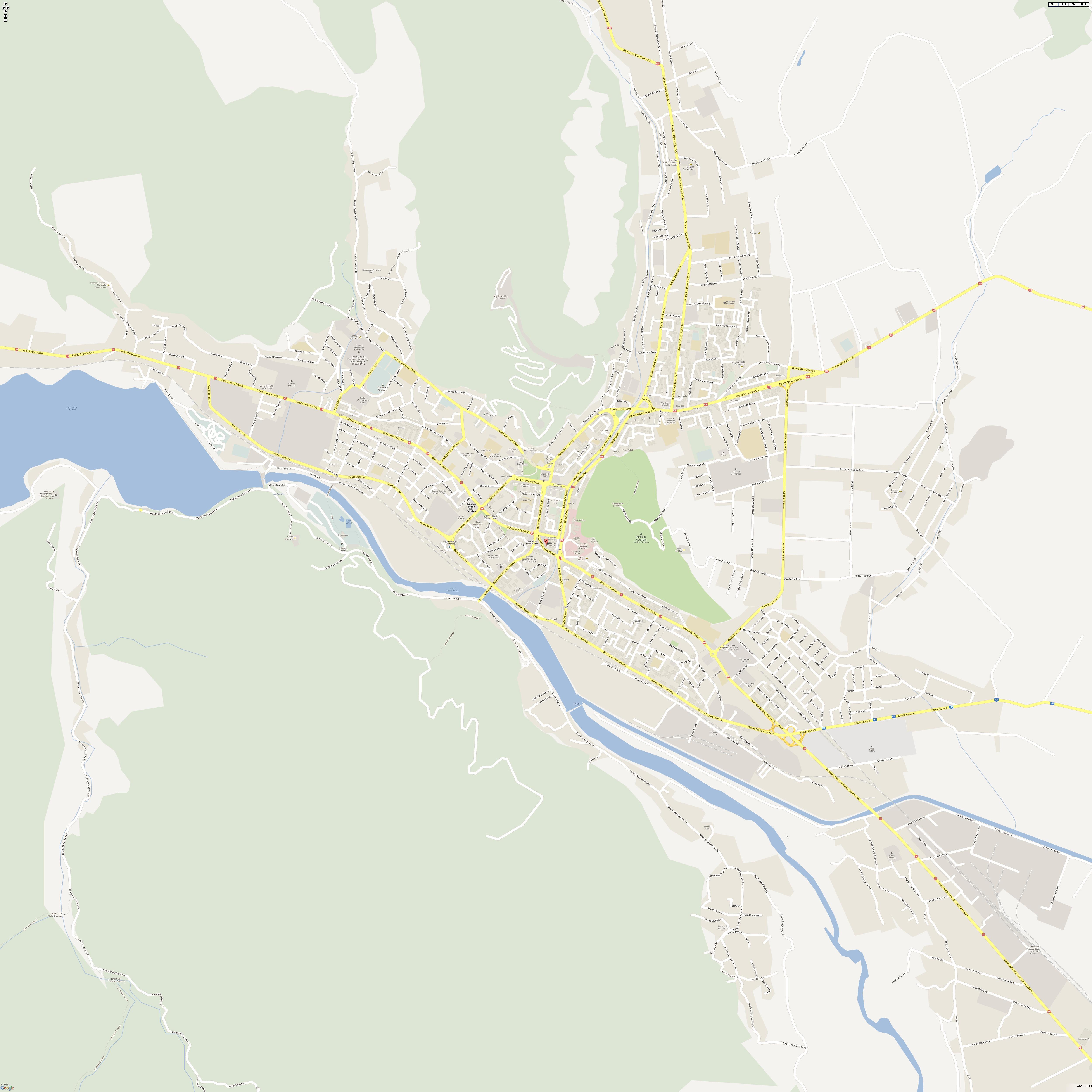 Harta Piatra Neamt Profu De Geogra