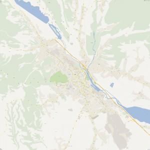 Harta-Pitesti