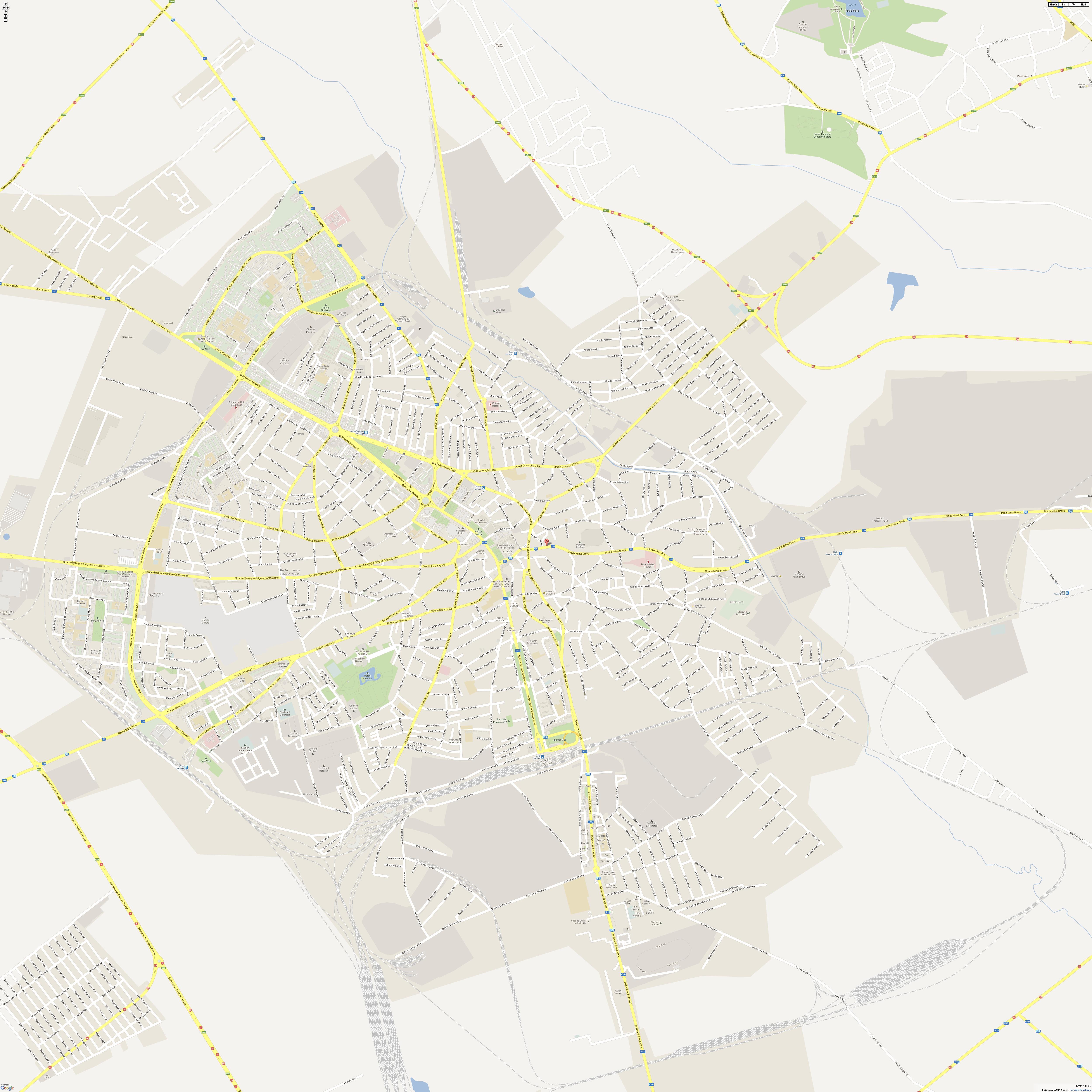 Harta Ploiesti Profu De Geogra