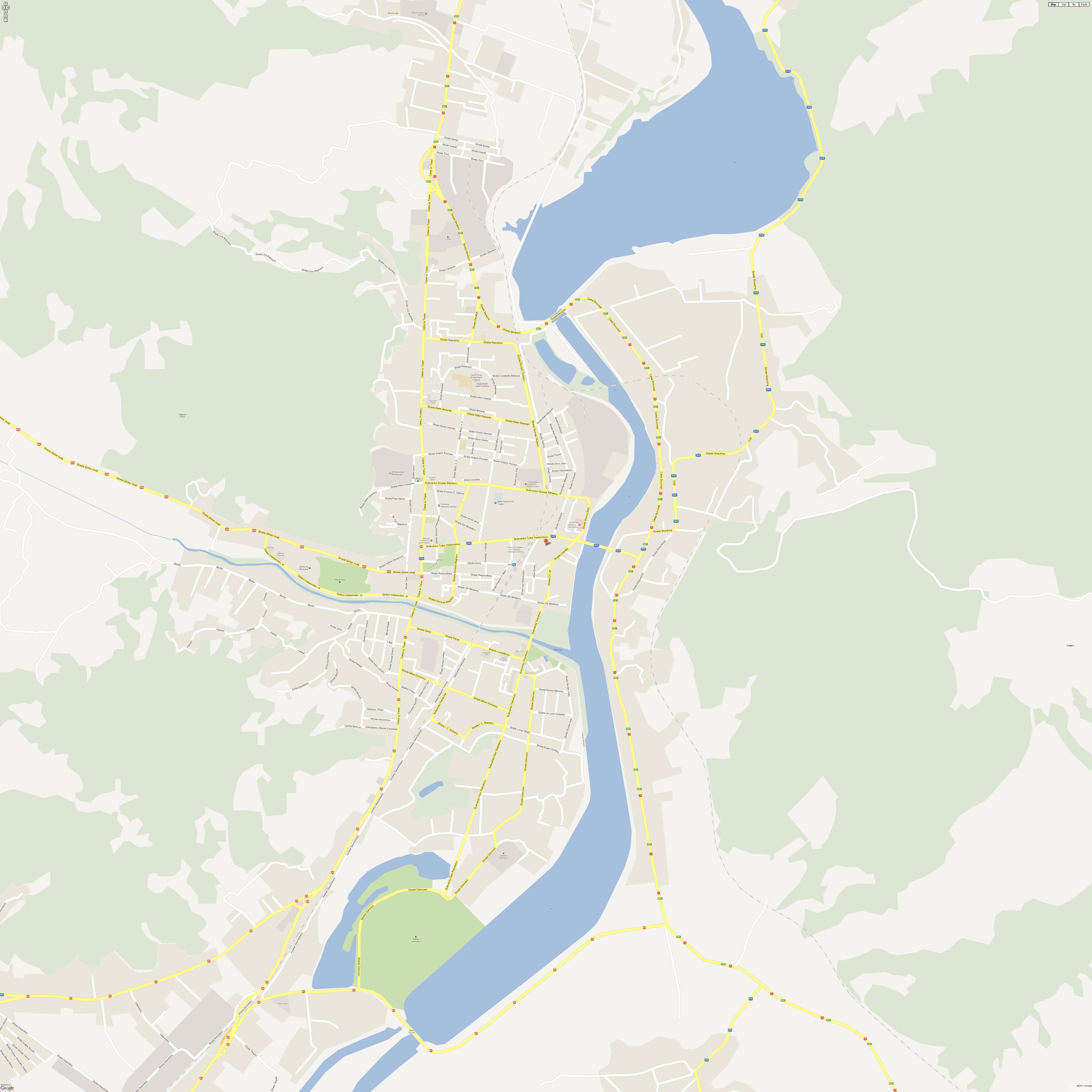 Harta Ramnicu Valcea Profu De Geogra