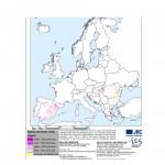Harta solurilor saline din Europa