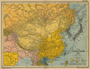 Imperiul chinez in 1910