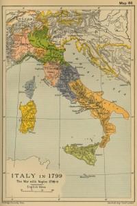 Italia in 1799