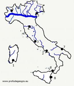 Harta oarba Italia