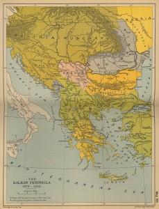 Peninsula Balcanica intre 1878-1910