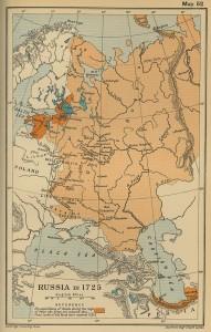 Rusia in 1725