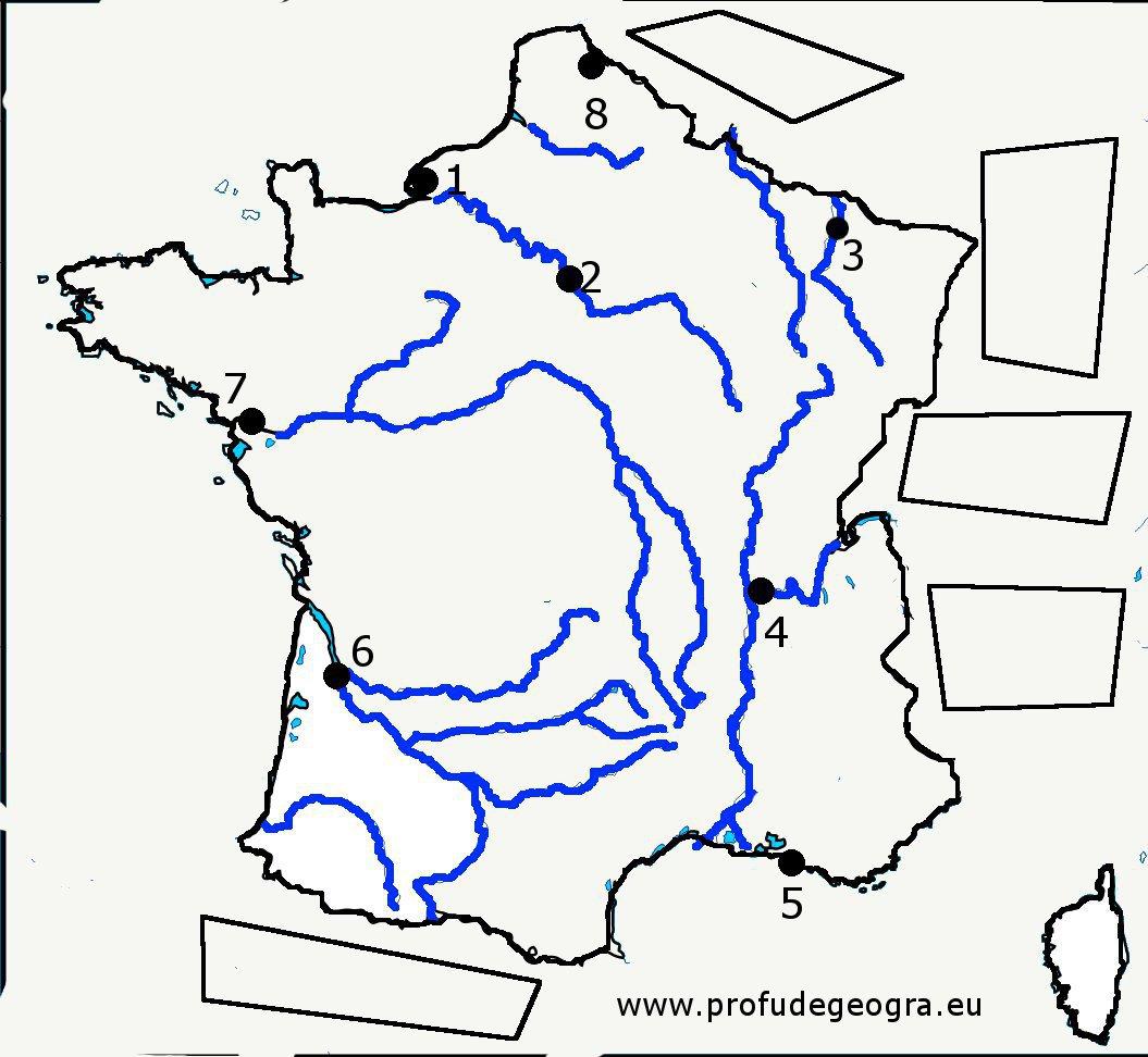 Harta Oarba Franta Profu De Geogra