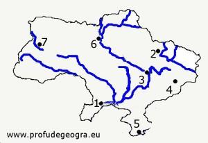 Harta oarba Ucraina