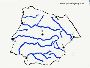 Harta oarba Spania