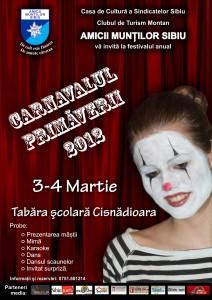 3-4 martie 2012 - Cisnadioara - Tabara Scolara