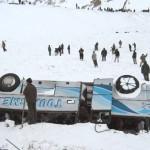 Cautarea eventualilor supravietuitori ai avalansei din Salang Pass
