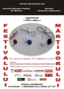 Festivalul Martisorului Iasi 28 feb- 1 martie 2012