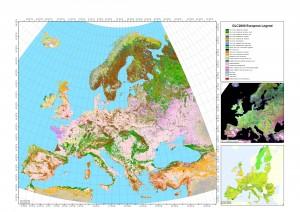 Harta Vegetatiei in Europa
