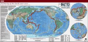 Harta cutremure 1900-2007