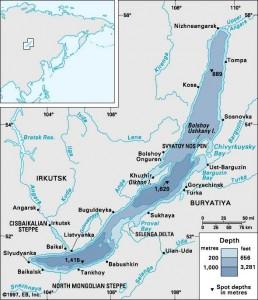 Cel mai adanc lac de pe glob (Baikal)