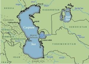 Harta Marii Caspice