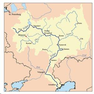 Harta Volga