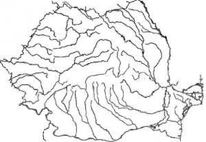 Fisa de evaluare pentru clasa a VIII-a (Raurile din Romania)