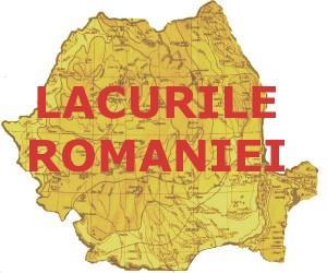 Harta lacuri Romania