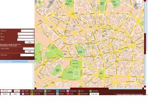 Harta orasului Bucuresti
