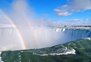 Cascada Niagara Curcubeu