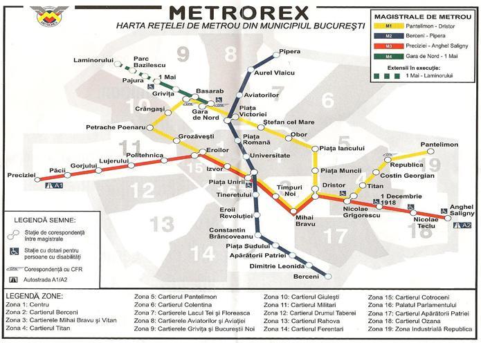Harta Metrou Bucuresti Archives Profu De Geogra