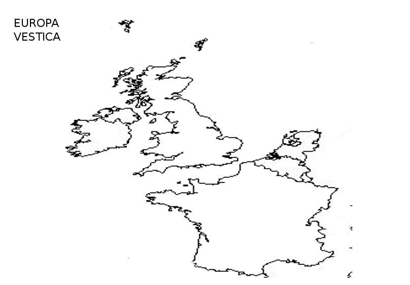 Harta Muta A Europei