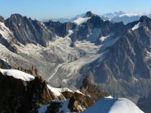 Muntii Alpi -Mont Blanc