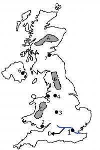 Harta muta Marea Britanie