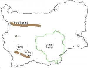 Harta muta Bulgaria